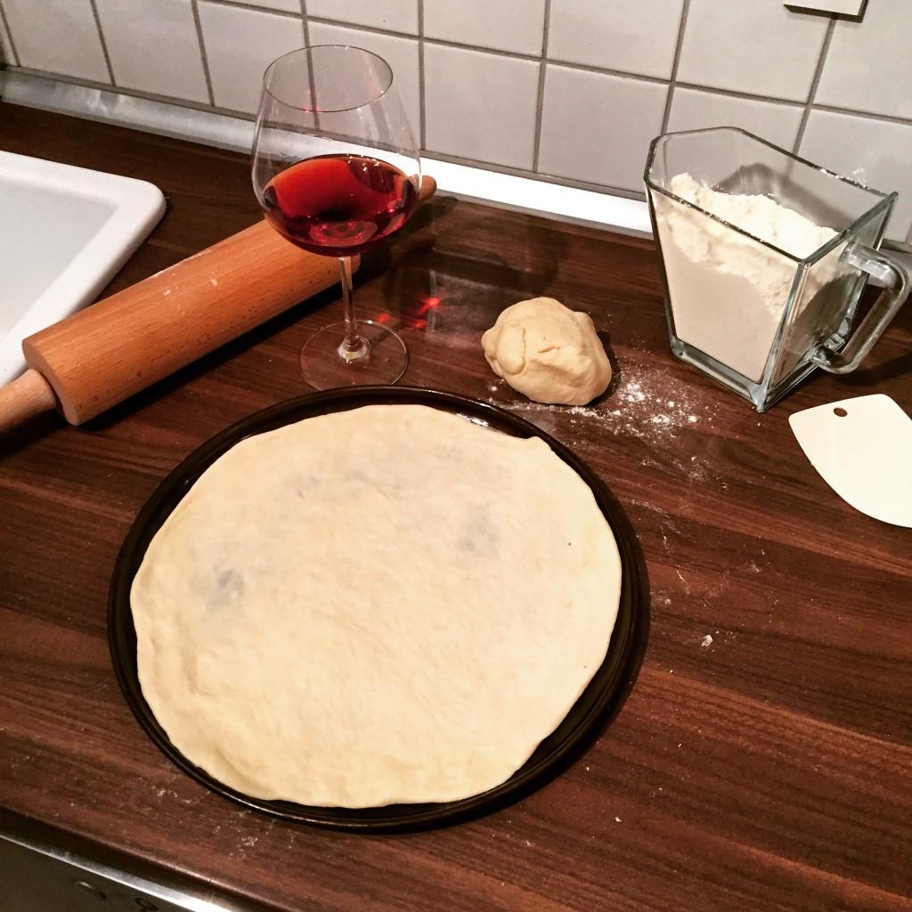 Grundrezept Pizzateig